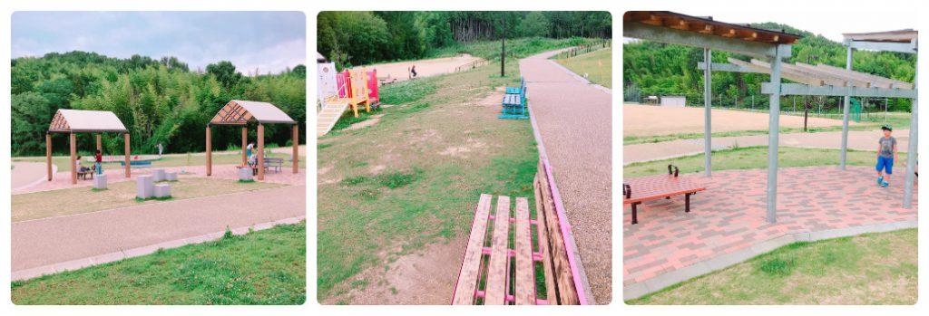太子町総合運動公園 ベンチ